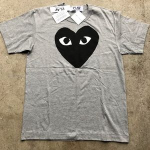 NWT Comme Des Garcons Play Tee